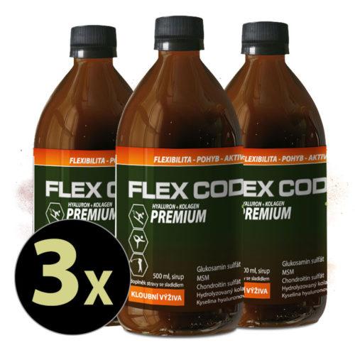 Flex Code Premium pack 3x