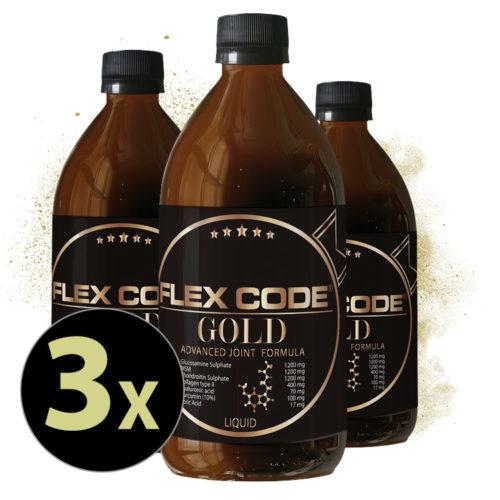 Flex-Code-Gold 3x